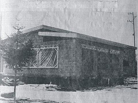 SV Babstadt e.V. - Chronik - Vereinsheim